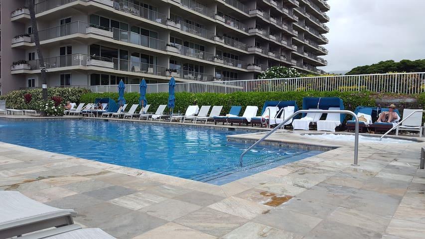 Oceanview Affordable Private Beach Condo