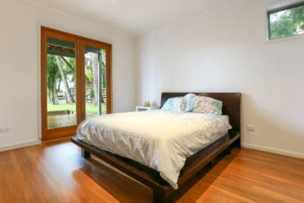 King size bed for parents retreat