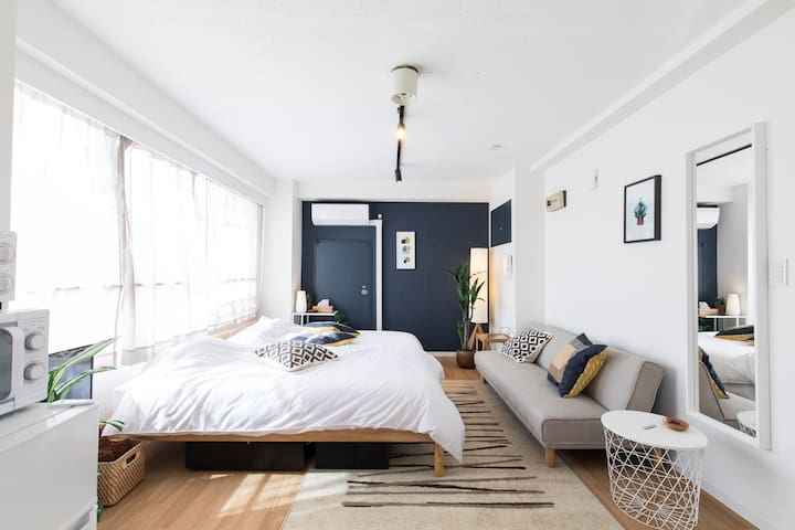 ASAKUSA STUDIO♡4ppl*Nice Location+Near Subway*WiFi
