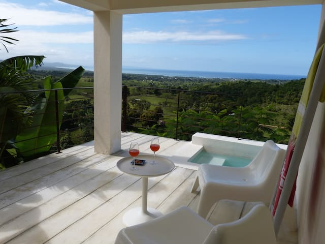 Seaview and mini pool for 2. Ideal for lovers! - Rio San Juan - Casa de campo