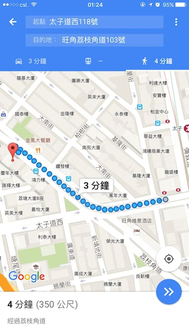 Only 3-4 minutes to mtr station from my house
