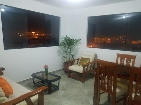 departamento en Punta Hermosa 5 personas , piso 5