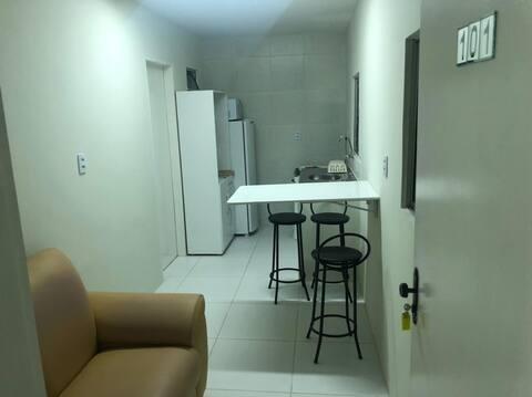 Apartamento novo em ótima localização. Apto 101.