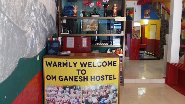 OM GANESH HOSTEL FOR PROPERLY GOOD SLEEP AND SAFE