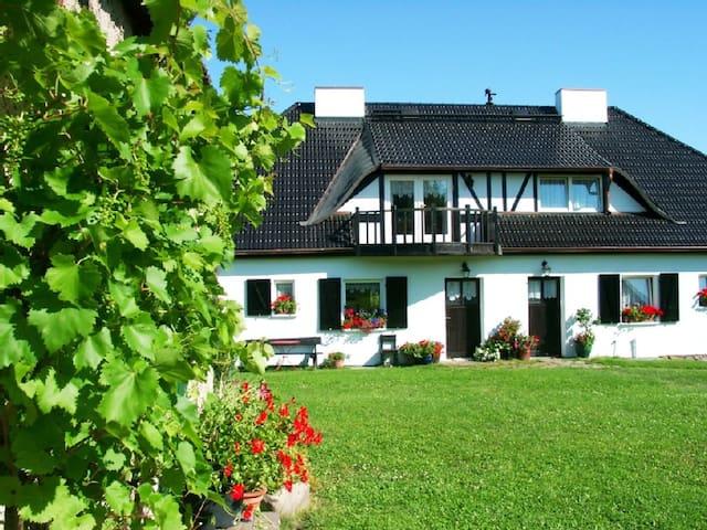 FeWo im Haus Schwaneberg ab 39,-€ - Randowtal - Daire