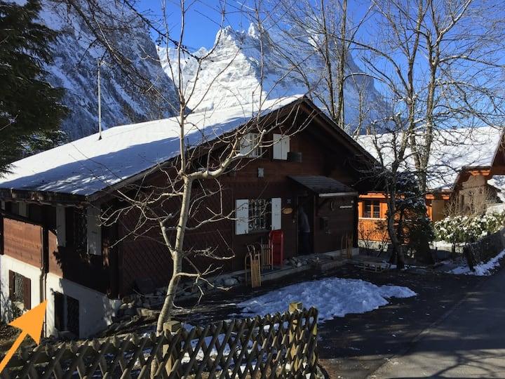 Chalet in Grindelwald, fantastische Lage