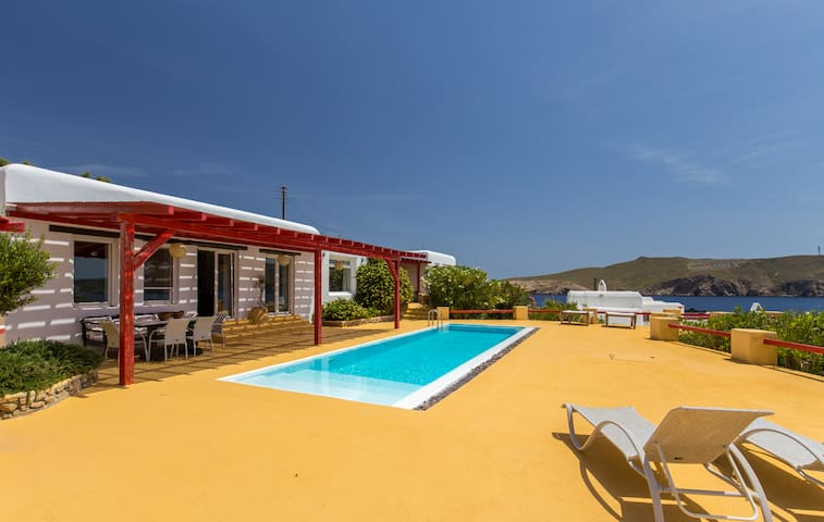 Villa Jolene · Villa Jolene in Agios Sostis-Kikis Tavern 3B- Pool - copy