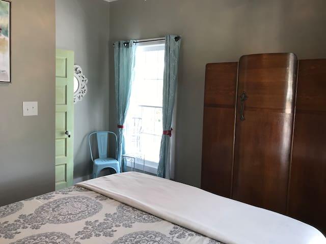 Second bedroom wardrobe