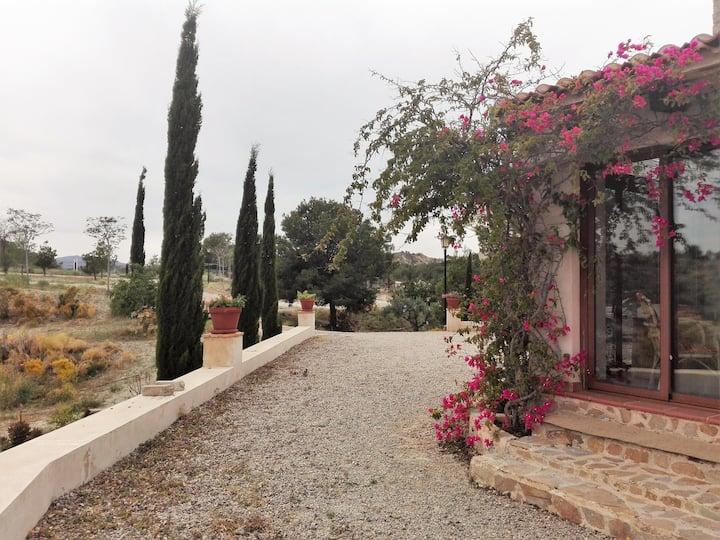 Casa en plena naturaleza a 10 minutos de Murcia.