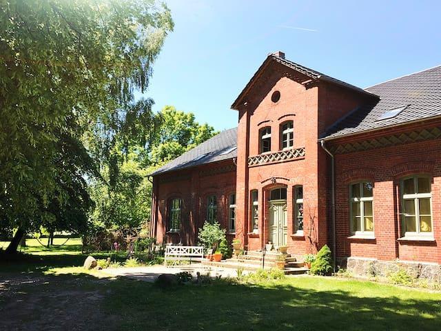 Pfarrhof Warbende Mecklenburgische Seenplatte - Möllenbeck - Casa