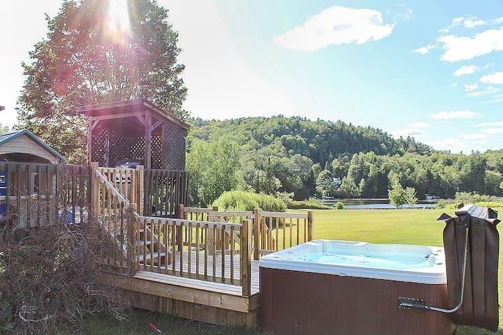 Hôtel à la maison - Chalet P'tit Loup avec spa