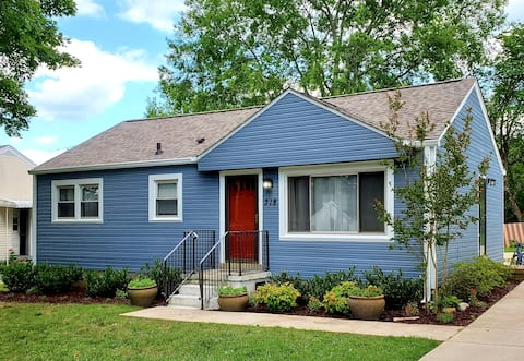 Charming Cottage In Historic Downtown Franklin