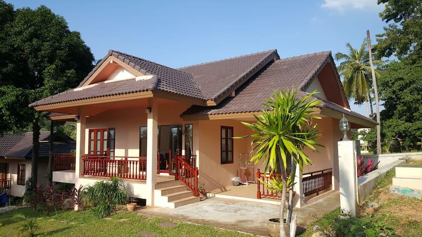 ChoengMon: NEW 2BR House Near Beach - Остров Самуи - Дом