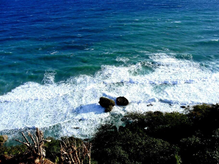 Sicht direkt zum Ocean