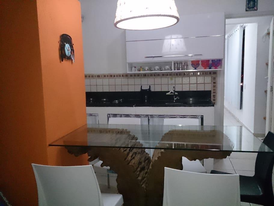 Cozinha/sala de tv