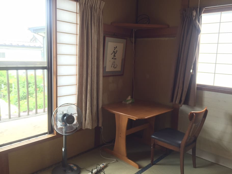 """Guest room """"Umi"""", three futon mattress"""