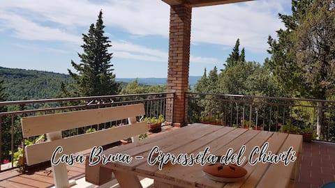 Casa Bruna - Cipresseta del Chianti