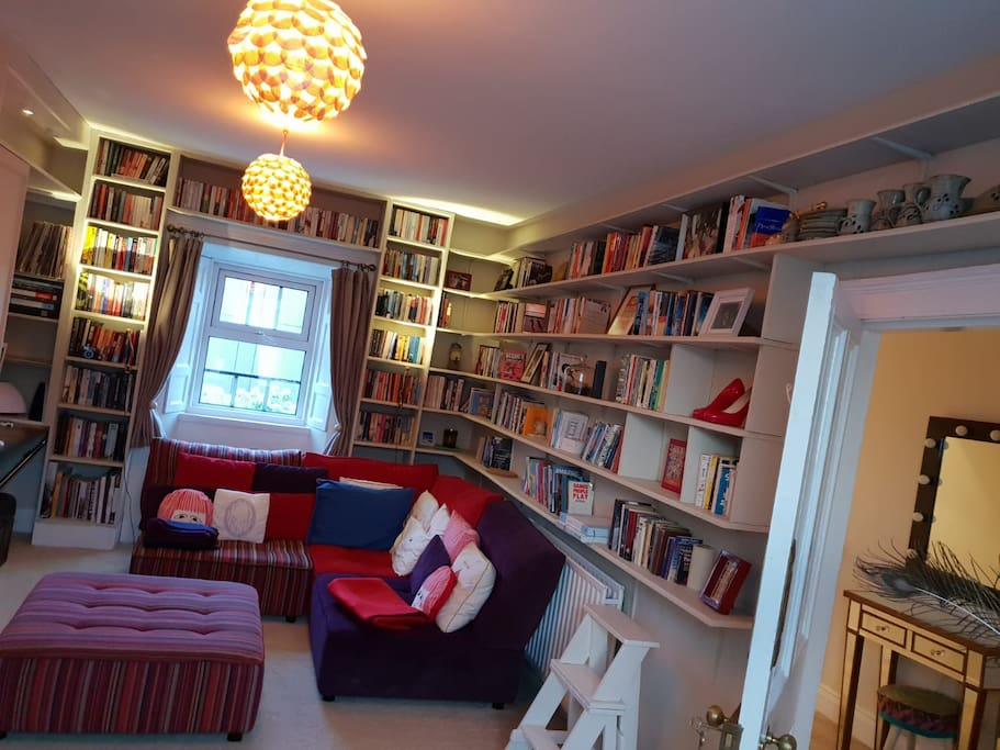 The Library! Also the living room :)