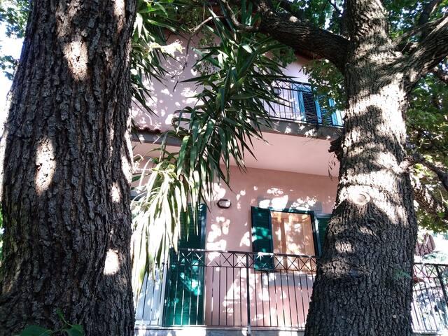 Appartamento in villa immersa nel verde