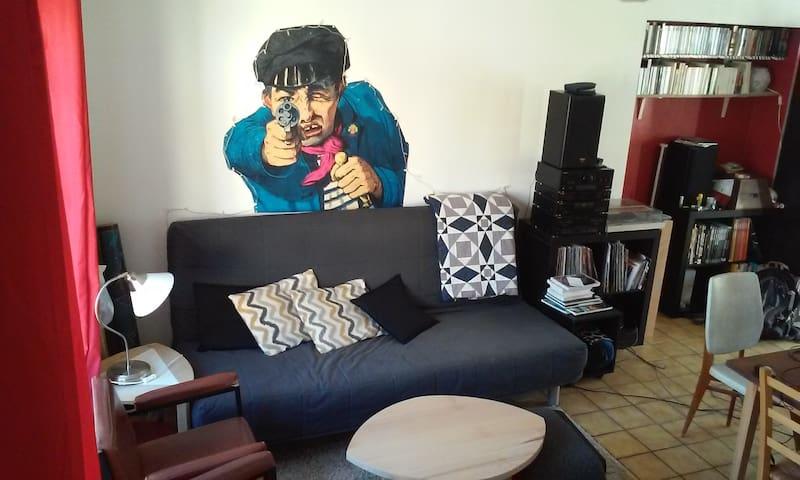 Appartement entre ville et campagne - Plombières-lès-Dijon - Apartment