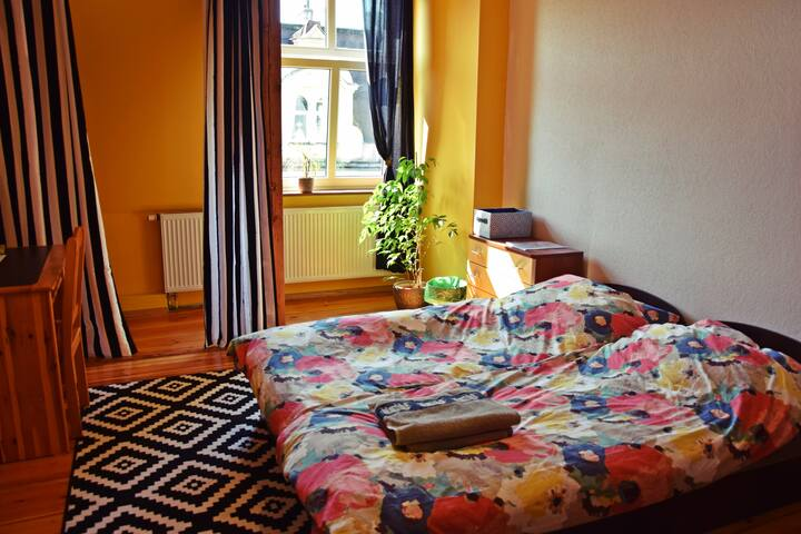 Nice and Big Room Poznań 5 min from Main Square