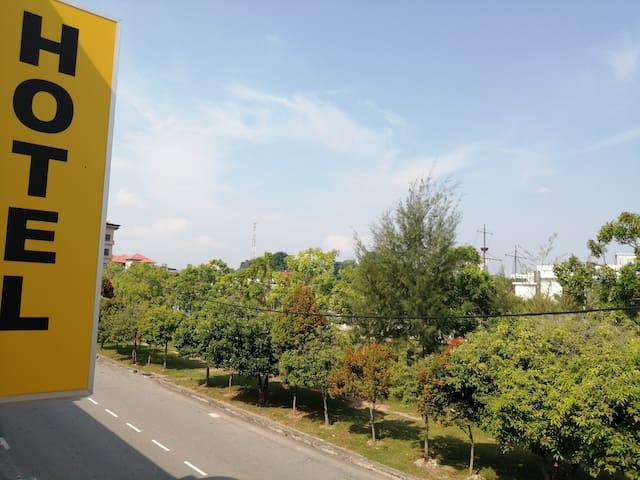 马六甲温馨舒适的河边酒店cozy riverside hotel(特价双人房)