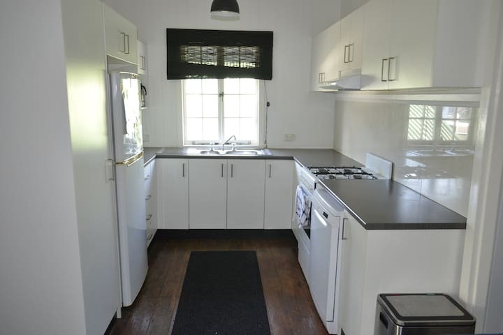 Fully equipped kitchen available for use by all staying in the house.