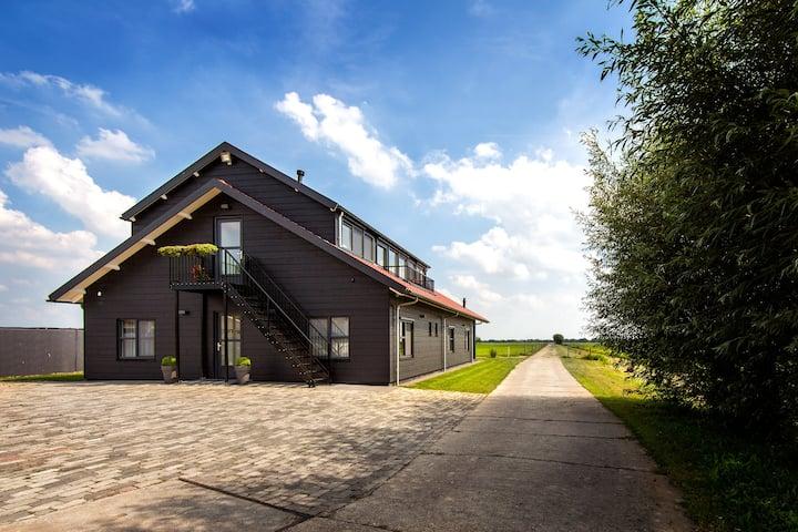 Vakantiehuis op boerderij (bij Utrecht/Amsterdam)