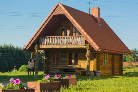 Guest house with sauna opportunity.
