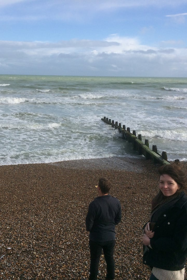Spring surf in Littlehampton