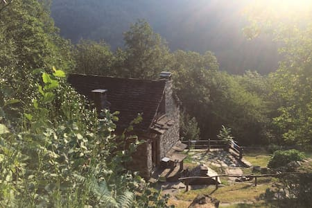 Rare gem, off-grid original Swiss mountain Rustico