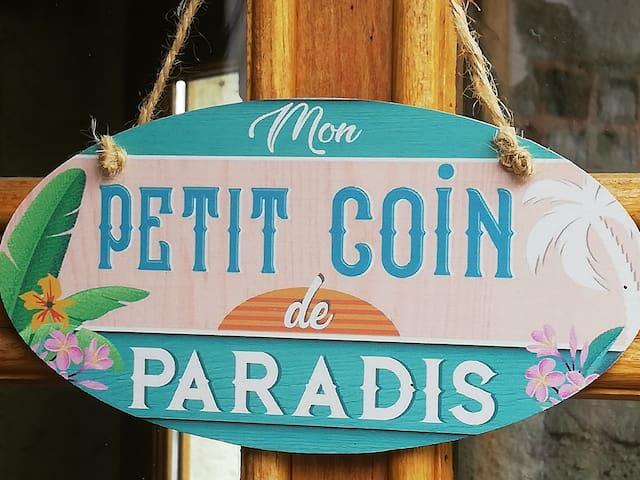 Mon petit coin de paradis vous est ouvert .....