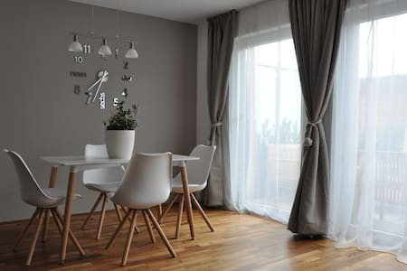 Modern, cozy and practical
