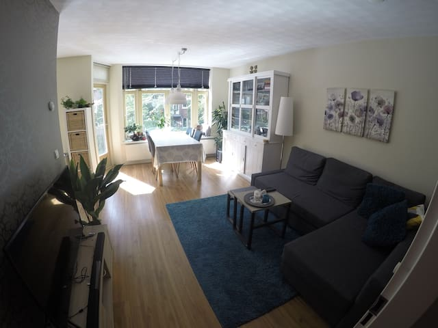 Lovely home with garden and sunny balcony - Amsterdam - Apartment
