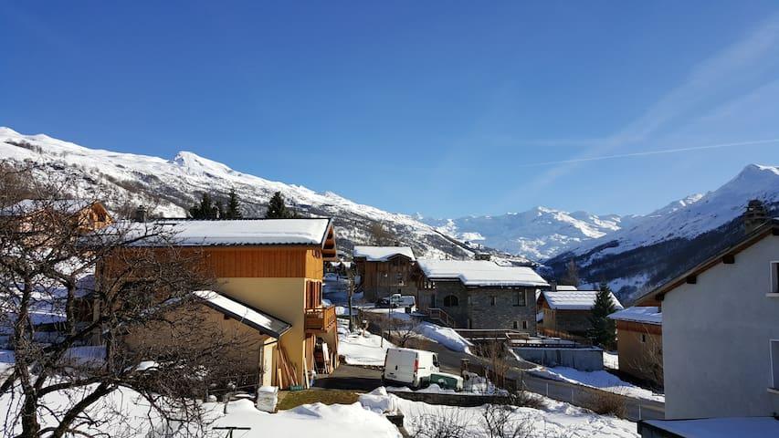 CHALET D'ETHAN, au village de Saint Marcel - Saint-Martin-de-Belleville - Casa