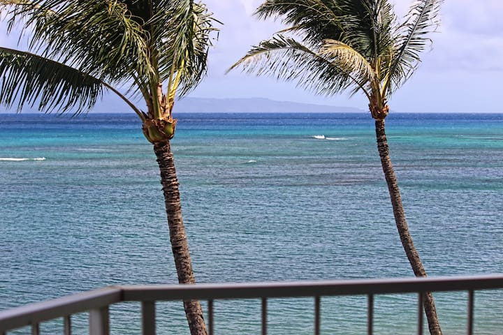 Royal Kahana 410; 2 BR, Oceanfront, No Resort Fee - Napili-Honokowai