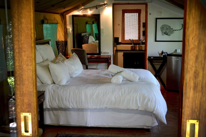 Mopane bedroom