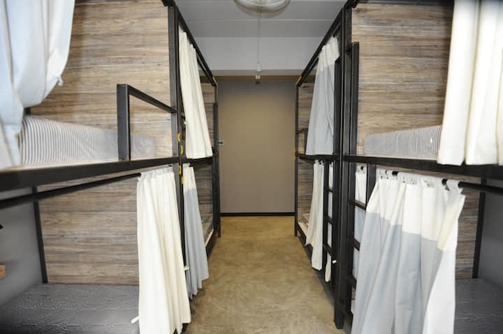 1 Bed in 8 Bunk Beds Mixed Dormitory