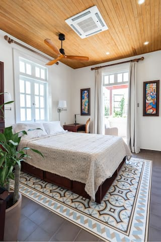 Casa Wilson Inn | Deluxe Queen Rooms | Terrace
