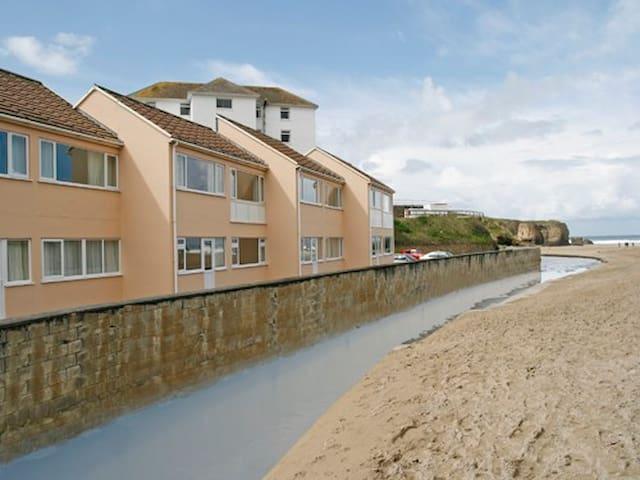 Sandbay 1 - ground floor beachside apartment - Perranporth - Apartment