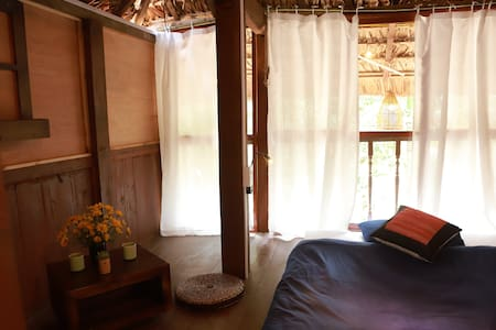 Co  Home, private room in stilt house 01 HG city
