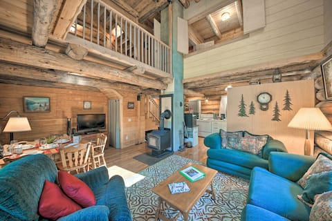 NEW! Private Moyie Riverfront Cabin: Pets Welcome!