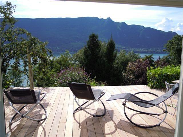Loft avec vue imprenable sur le lac - Tresserve - Loft