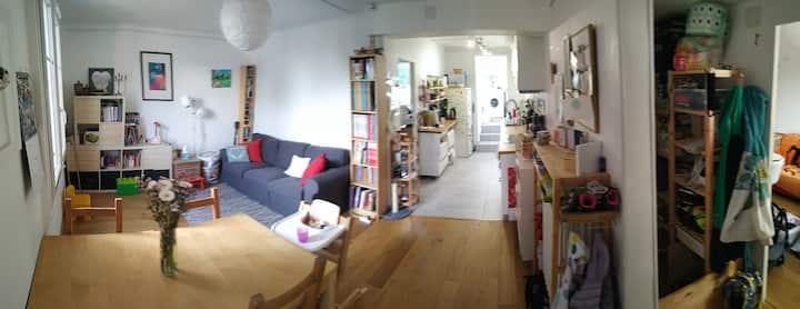 Appartement familiale de plein pied.