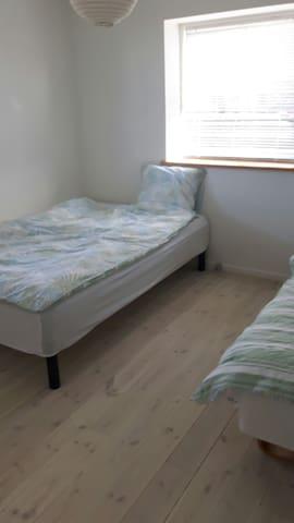 Dejligt lyst værelse