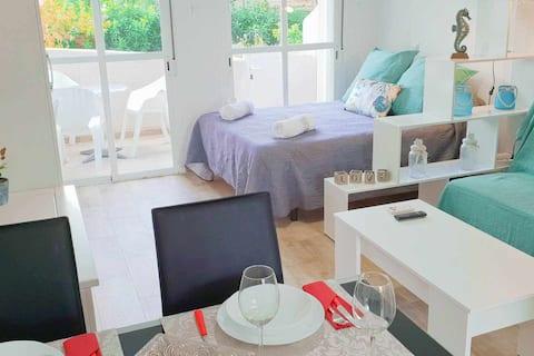 Stylish Apartments Club Tropicana 1ª Línea de Mar