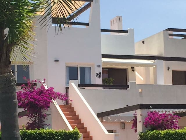 Apartment with private roof terrace&shared pool