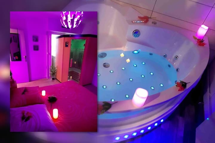 En amoureux avec Sauna+Spa Privatif Front de Mer