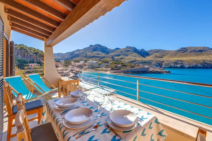 With sea view and pool - Apartment Mirador