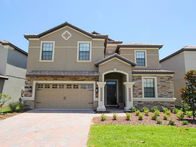 Champions Gate - Pool Home 8BD/5BA - Sleeps 19 - Platinum - RCG848 - Four Corners - Vila